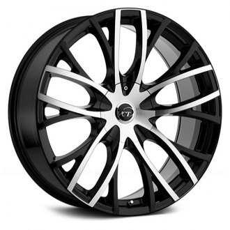 VCT® - V76 Black with Machined Face