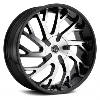 VCT® - V77 Black with Machined Face