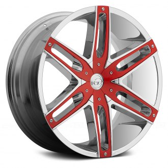 VCT® - V8 Chrome with Red Inserts