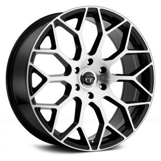 VCT® - V82 Black with Machined Face
