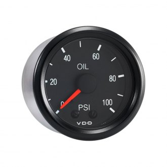 VDO® - Oil Pressure Gauge 100 PSI