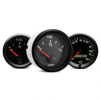VDO® - Cockpit™ In-Dash Black Analog Gauges