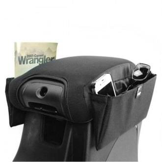 VDP® - 350 JK Sliding Arm Rest Pad with Side Storage Pockets