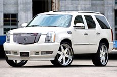 Vellano VSF Custom Painted on Cadillac Escalade