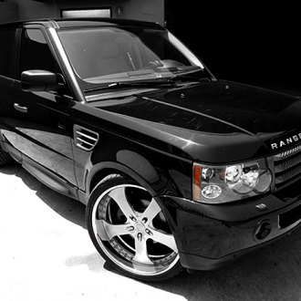 Vellano VSQ Brushed with Chrome Lip on Range Rover
