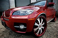 Vellano VTA Custom Painted on BMW X6