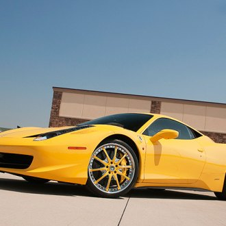 Vellano VTE Custom Painted on Ferrari 458