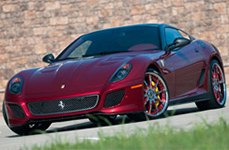 Vellano VTE Custom Painted on Ferrari 599