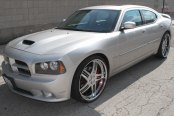 VELLANO® - VSW Brushed with Chrome Lip on Dodge Charger