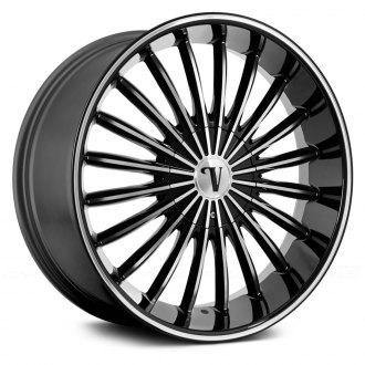 VELOCITY® - VW11 Black with Machined Face and Pinstripe