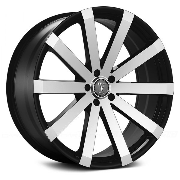 VELOCITY® - VW12 Black with Machined Face