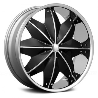 VELOCITY® - VW120 Chrome with Black Inserts