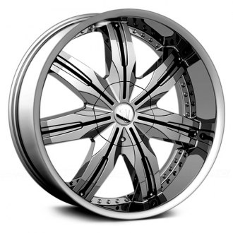 VELOCITY® - VW130 Chrome with Black Inserts