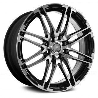 VELOCITY® - VW287 Black with Machined Face
