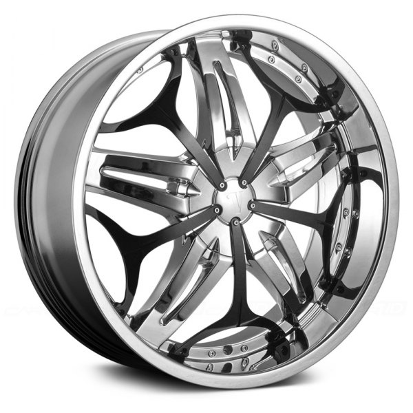 VELOCITY® - VW815 Chrome with Black Inserts