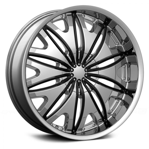VELOCITY® - VW820 Chrome with Black Inserts
