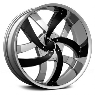VELOCITY® - VW825 Chrome with Black Inserts
