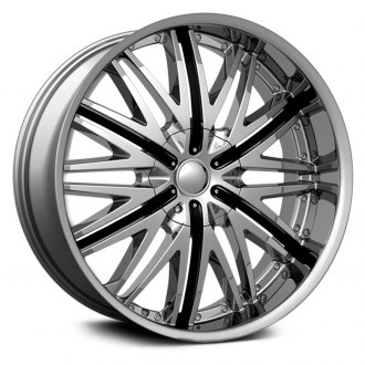 VELOCITY® - VW830 Chrome with Black Inserts