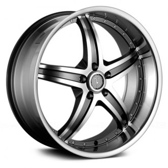 VELOCITY® - VW880A Gunmetal with Machined Face and Lip