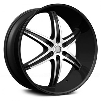 VELOCITY® - VW925A Black with Machined Face