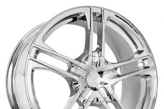 "VERDE® - PROTOCOL Chrome (17"" x 7"", +40 Offset, 5x114.3 Bolt Pattern, 72.62mm Hub)"