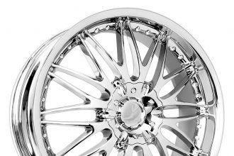 "VERDE® - REGENCY Chrome (18"" x 7.5"", +40 Offset, 4x100 Bolt Pattern, 72.62mm Hub)"