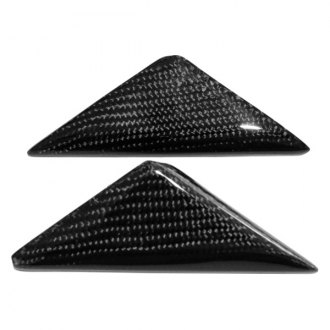 Vertical Doors® - CA Super Coupes™ OEM Style Carbon Fiber Mirror Triangle Covers