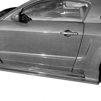 CA Super Coupes® - Saleen Style Fiberglass Side Skirts