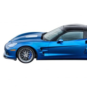 Vertical Doors® - CA Super Coupes™ Wide ZR1 Style Fiberglass Front Right and Left Fenders with Liners (Unpainted)