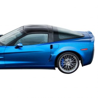 Vertical Doors® - CA Super Coupes™ Wide ZR1 Style Fiberglass Rear Right and Left Quarters (Unpainted)