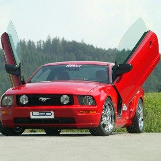 Ford Mustang Lambo Doors Vertical Doors Conversion Kits Carid Com