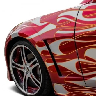 Vertical Doors® - CA Super Coupes™ Hot Wheels Style Fiberglass Fenders (Unpainted)