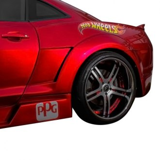Vertical Doors® - CA Super Coupes™ Hot Wheels Style Fiberglass Rear Quarters (Unpainted)