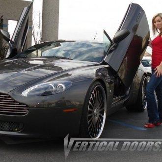 Aston Martin Vantage Lambo Doors Vertical Doors Conversion Kits Carid Com