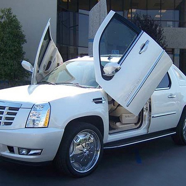 Vertical Doors® - Lambo Door Conversion Kit & Vertical Doors® - Cadillac Escalade 2007-2013 Lambo Door Conversion Kit