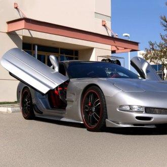 Vertical Doors® - ZLR Door Conversion Kit & Chevy Corvette Lambo Doors | Vertical Doors Conversion Kits \u2013 CARiD.com