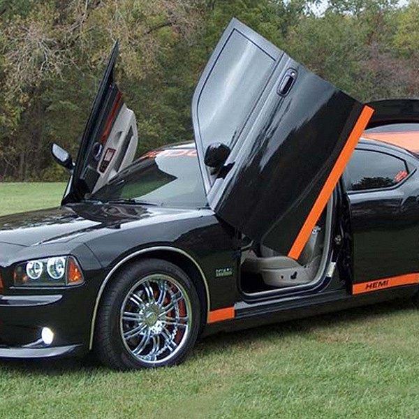 Vertical Doors® - Lambo Door Conversion Kit & Vertical Doors® - Dodge Charger 2006-2010 Lambo Door Conversion Kit
