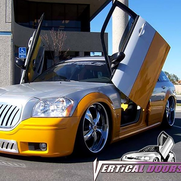 Vertical Doors® - Lambo Door Conversion Kit & Vertical Doors® - Dodge Magnum 2005-2008 Lambo Door Conversion Kit
