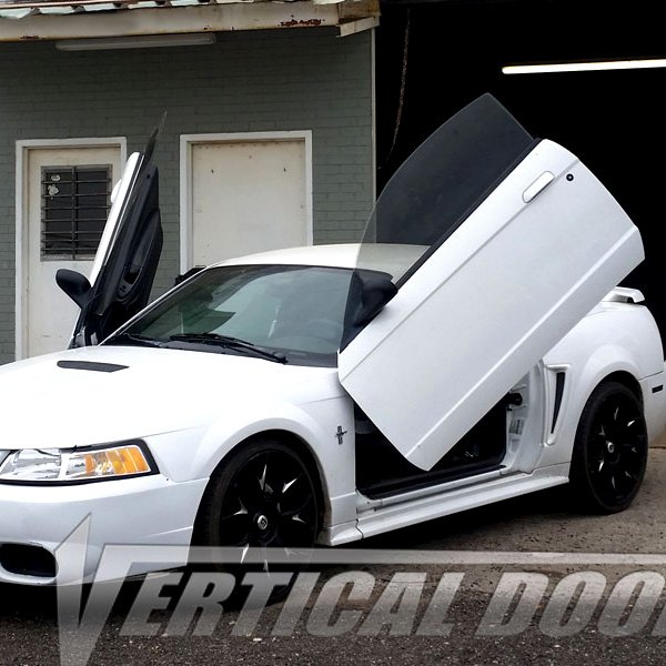 Image may not reflect your exact vehicle!Vertical Doors® - Lambo Door Conversion Kit