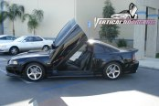 VERTICAL DOORS® - Lambo Door Conversion Kit Installed