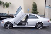 VERTICAL DOORS® - Lambo Door Conversion Kit, Installed