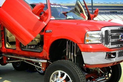 Ford F-250 with Lambo Doors