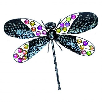 "Very Cool Stuff® - 16"" Rainbow Bling Dragonfly"
