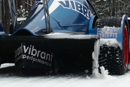 Vibrant Performance® LSX Powered Hypercar Snow Trek (Full HD)