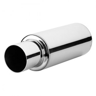 Vibrant Performance® - TPV Series 304 SS Round Exhaust Muffler
