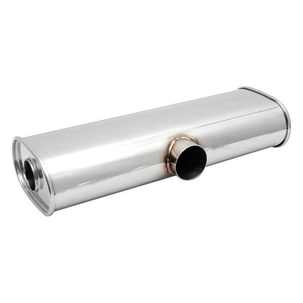 Vibrant 1119 Stainless Steel Round Muffler