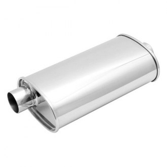 Vibrant Performance® - Streetpower 304 SS Exhaust Muffler without Tip