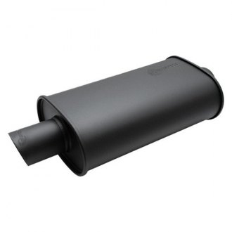 Vibrant Performance® - Streetpower Flat Black 304 SS Muffler