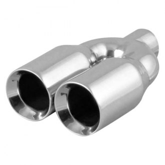 Vibrant Performance® - 304 SS Dual Single Wall Exhaust Tip