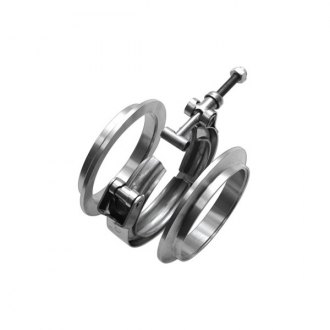 Vibrant Performance® - Stainless Steel V-Band Flange Assembly, 4""